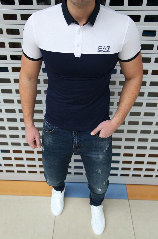 Футболка-поло мужская Emporio Armani EA7