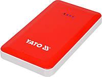 Пускова батарея Li-Pol 7.5 Агод YATO 200/400 А, живлення через USB: 5В, 2А, фото 1