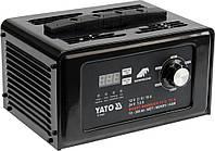 Пуско-зарядний пристрій до акумул-в YATO 12/24 В, ємн. 10-300 Агод;V= 230 В,2/8/15А(12В),7,5 А (24В), фото 1