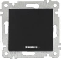 """MUTLUSAN """"Rita"""" Механизм выключателя 1-й 10А с подсветкой черный (2200 415 0184)"""