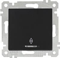 """MUTLUSAN """"Rita"""" Механизм выключателя 1-й проходной с подсветкой 10А черный (2200 416 0184)"""