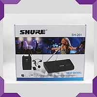 Микрофон DM SH 201|Беспроводной микрофон|Вокальный микрофон|Радиомикрофон с базой