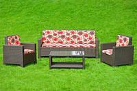 Комплект из искусственного ротанга Mylan, мебель из искусственного ротанга, комплект из ротанга