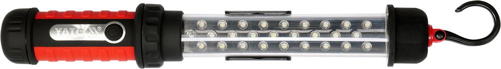Світильник переносний світлодіодний YATO 27 LED акумулят. 3,6 V з зарядкою від 220 V [10]