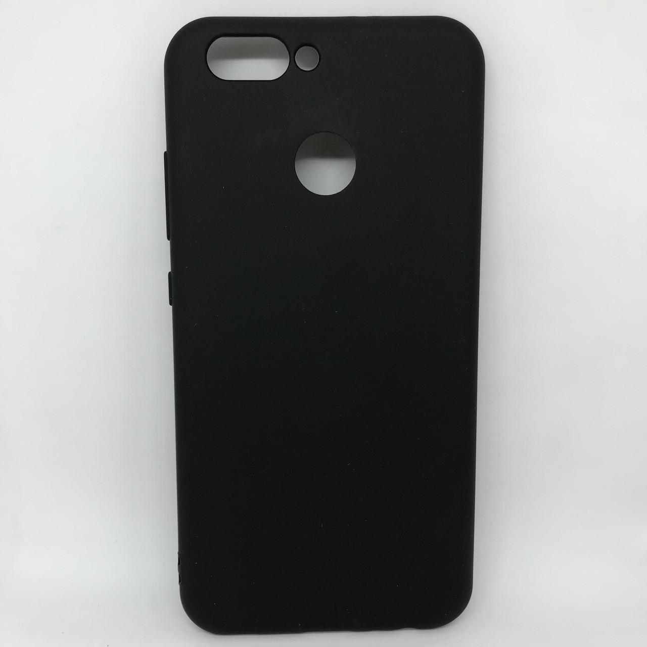 Чехол-накладка silicone Huawei Nova 2 черный