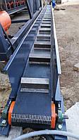 Стрічковий конвеєр зі скребком довжиною 8 м шириной 200 мм для деревної стружки та пилі від ТОВ 4БІЛД