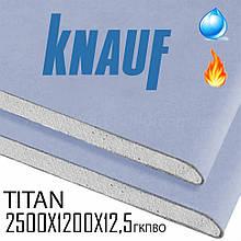 Звукоизоляционный гипсокартон Titan (Diamant) 12,5 мм (1200x2500 мм)