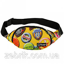 Бананка, сумка на пояс, сумка через плечо TIGER ЕМБЛЕМА