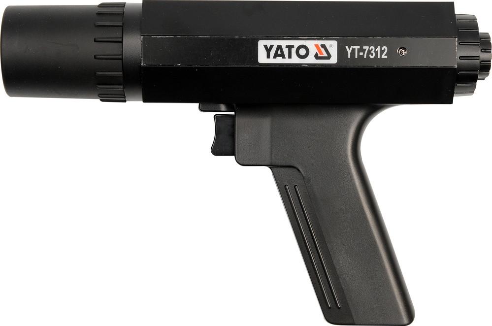 Стробоскопна лампа для двигунів YATO з діапаз. 0-60°, U= 12 В, макс. 8000 об/хв. [6/12]