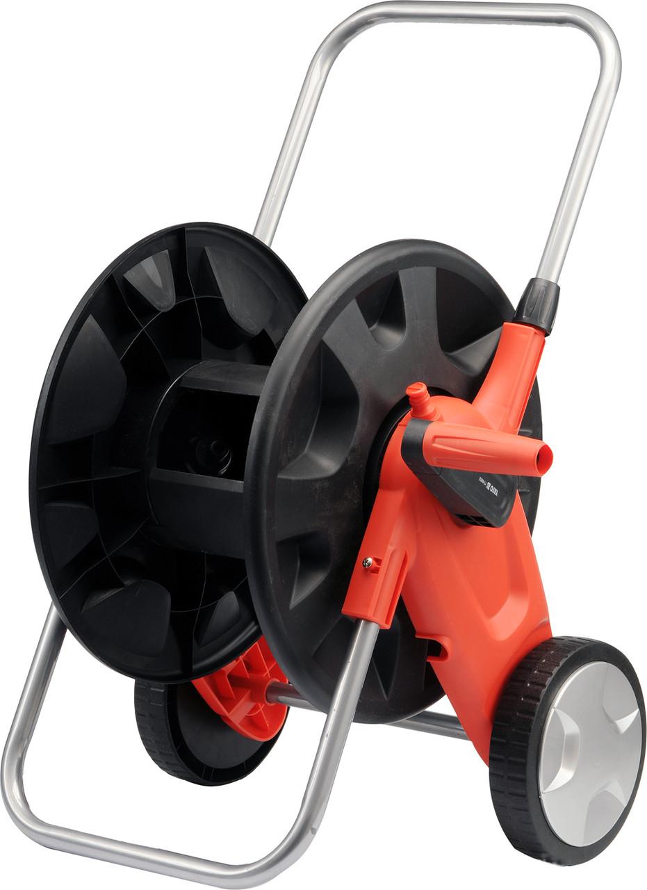 """Тележка на колесах с катушкой для шланга YATO 1/2""""-50 м 3/4""""-45 м"""