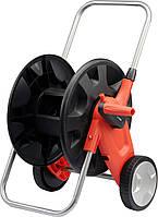 """Тележка на колесах с катушкой для шланга YATO 1/2""""-50 м 3/4""""-45 м, фото 1"""