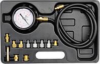 Тестер для вимірювання тиску оливи з адаптерами в діапазоні 0- 35 Bar, фото 1