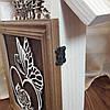 Настенная ключница из дерева на 5 крючков, фото 4
