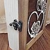 Настенная ключница из дерева на 5 крючков, фото 6