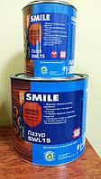 """Лазур SWL-15 горіх 0,7л ТМ""""SMILE"""""""