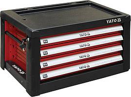 Шкаф для мастерской с 4 ящиками YATO к столу YT-08920 690 х 465 х 400 мм