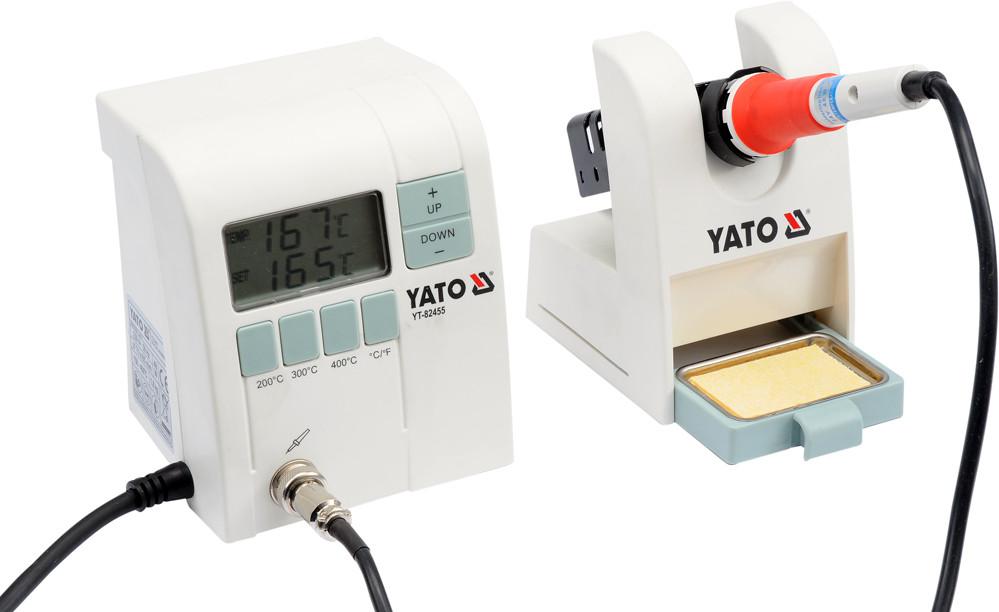 Цифрова паяльна станція индлукционная YATO 48 Вт