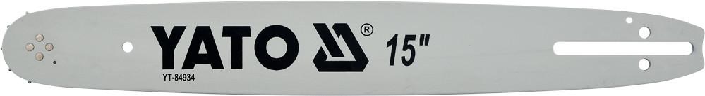 """Шина направляюча l= 15""""/ 38 см (64 ланки) для ланцюгових пил YATO YT-84900, YT-84941, YT-84963"""