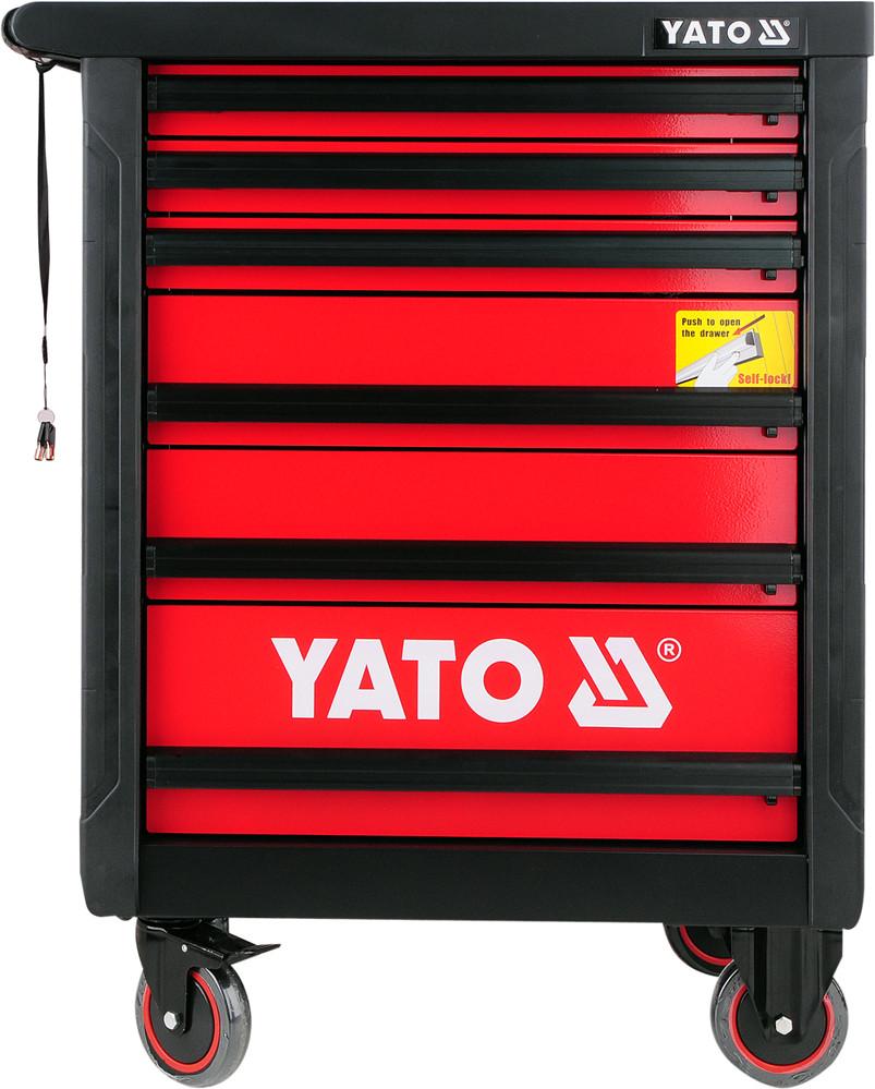Шкаф-тележка для инструментов YATO 958 x 766 x 465 мм с 6 шуфлядами
