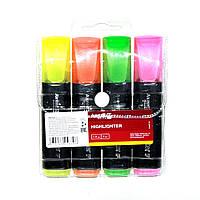Набор маркеров (текстовыделителей) 4 цвета