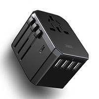 СЗУ Joyroom JY-305 Plus Travel 5USB (4USB+USB-C) 5.6A, фото 1