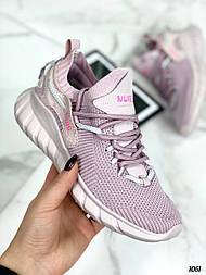 Женские лиловые кроссовки летние из текстиля  vN7545