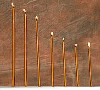 Восковая свеча №30, 150шт. (вес 2кг.)