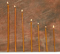Восковая свеча №30, 150шт. (вес 2кг.), фото 1