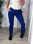 Женские спортивные штаны на манжетах и с карманами  vN7573, фото 2