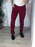 Женские спортивные штаны на манжетах и с карманами  vN7573, фото 4