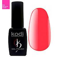 """Гель-лак для ногтей Kodi Professional """"Bright"""" №BR040 Алый (эмаль) 8 мл"""