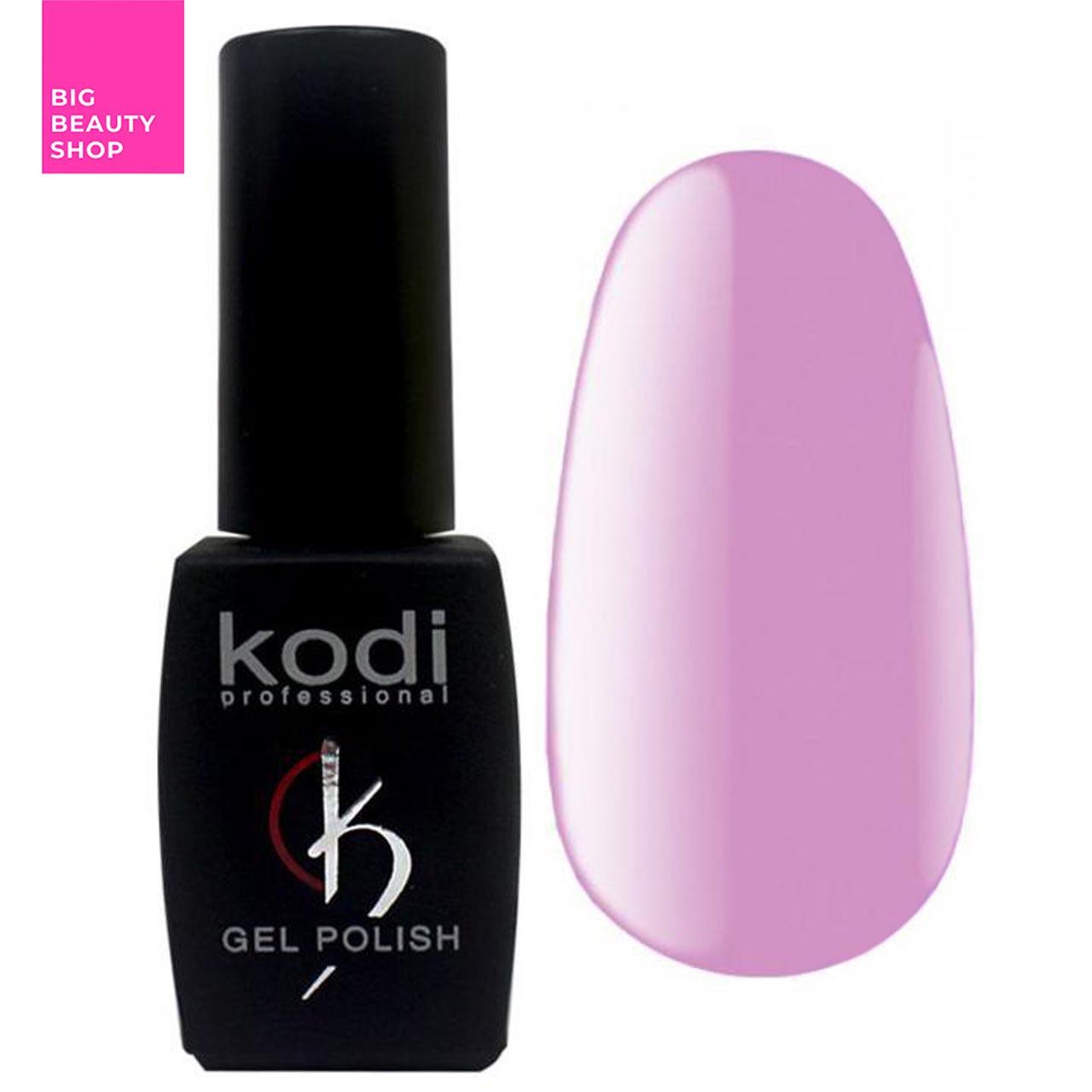 """Гель-лак для ногтей Kodi Professional """"Lilac"""" №LC100 Глициния (эмаль) 8 мл"""