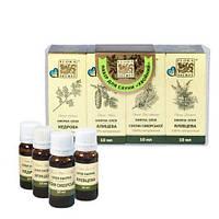 Набор эфирных масел Flora Secret для сауны и бани «Хвойный», 4х10 мл
