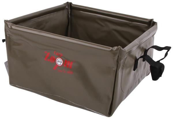 ПВХ ведро Carp Zoom Foldable Square Bucket 10 л CZ0435