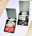 Дорожный набор для контактных линз в виде игральных карт, фото 2