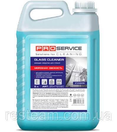 """Средство для мытья стекол и зеркал """"PRO service"""", """"Морозная свежесть"""" 5 л"""