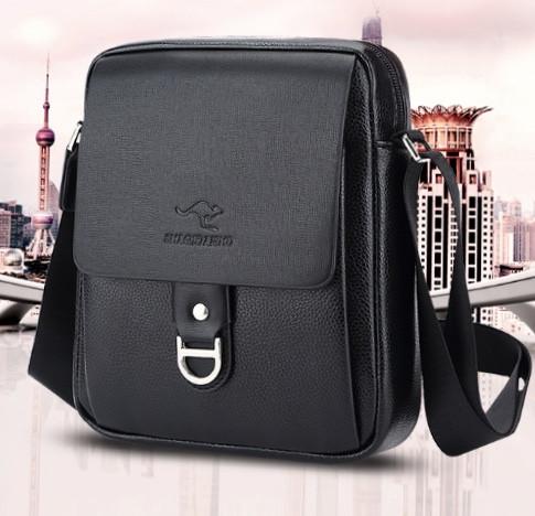 Мужская кожаная сумка. Модель 61253