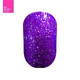 """Гель-лак для ногтей Naomi """"Self Illuminated"""" №05 Плотный фиолетовый с блестками и слюдой 6 мл, фото 2"""