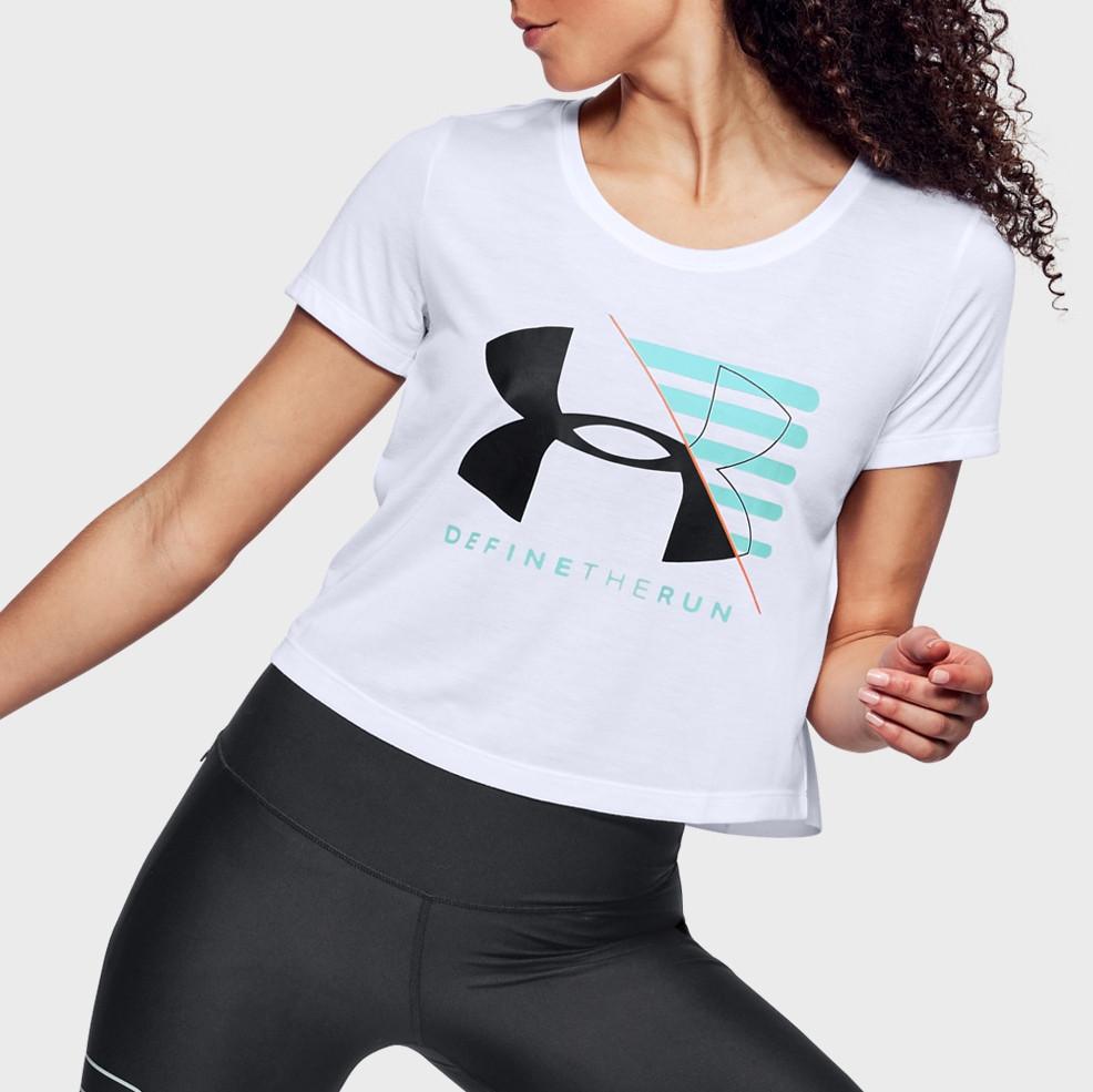 Женская футболка Under Armour Run Vanguard Boxy