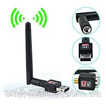 Usb wi-fi сетевой адаптер wi fi 802.11n + антенна, фото 3