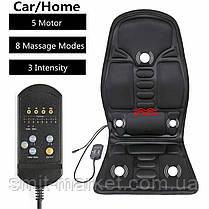 Автомобильная массажная накидка massage robot cushion, фото 3