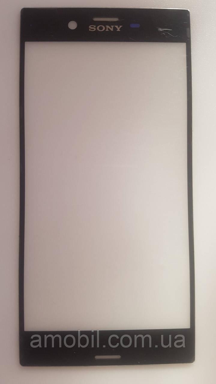 Стекло Sony Xperia XZ F8331 / F8332 black (для переклейки)