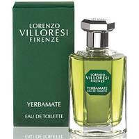 Туалетная вода тестер унисекс Lorenzo Villoresi Yerbamate edt   50 мл