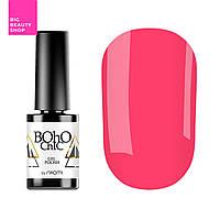 Гель-лак для ногтей Naomi Boho Chic №BC024 Плотный кораллово-розовый (эмаль) 6 мл