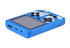 Игровая приставка СИНЯЯ Game Box Sup 400 в 1 Консоль | Портативная игровая ретро консоль, фото 6