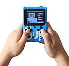 Игровая приставка СИНЯЯ Game Box Sup 400 в 1 Консоль | Портативная игровая ретро консоль, фото 9