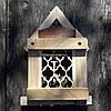 Ключница настенная из дерева на 4 ключа, фото 2