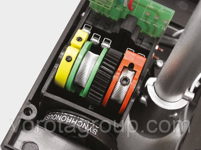 Автоматика для секционных ворот промышленного типа shaft-60 IP65 kit