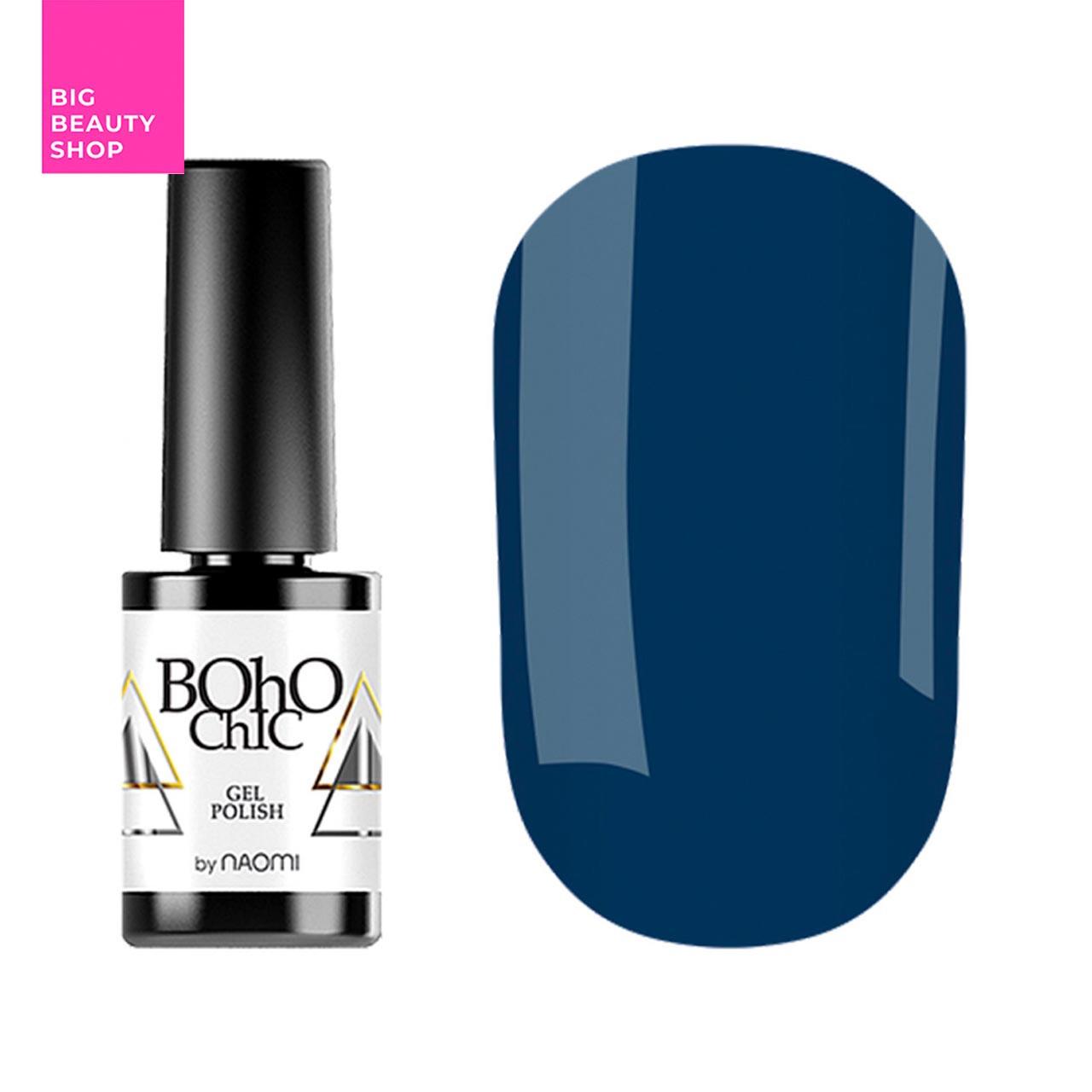 Гель-лак для ногтей Naomi Boho Chic №BC093 Плотный морская волна (эмаль) 6 мл
