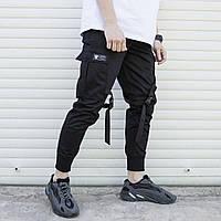 Мужские карго штаны ТУР - Yoshimitsu, Black, фото 1